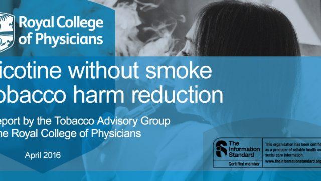 Nikotin brez dima: zmanjševanje škode, ki jo povzroča tobak